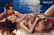 Poolside Fashion Campaigns