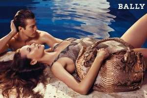 Christy Turlington Lounges in Luxury for Bally S/S '09