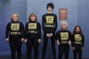 Gym Replaces Metal Weights With People of Different Shapes and Sizes