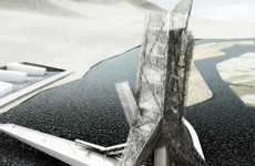 Water-Filtering Bridges - China's Miyi Tower Will Clean River Below, Foster Cultural Arts Above