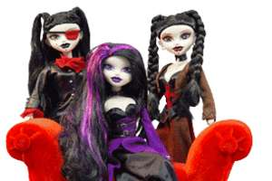 Pierced BeGoth Fashion Dolls with Tattoos Don't Conform to Barbie Beautiful