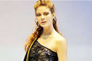 Ali Charisma's Dresses Flaunt Flashy Oversized Sequins