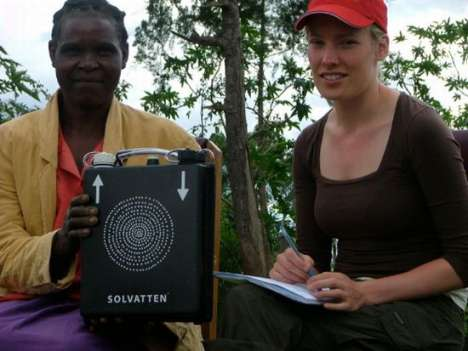 Solar-Powered Water Purifiers