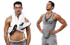 Sweaty Workout Lookbooks - Get Moving With the Dolce & Gabbana Gym 2009 Collection