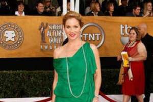 Celebrities Choose Colorful Gowns for SAG Awards