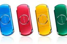 Handheld Sony PSP Tastes The Rainbow With 4 New Colours