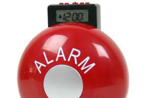 The Fire Bell Alarm Clock Wakes The Deepest Sleepers