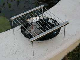 Sleek Portable BBQs