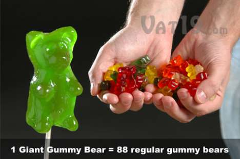 Gummy Bears on Sticks