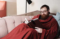 Eco-Friendly Recession Blankets - Snuggies Gain Popularity Due To Ridiculous Branding
