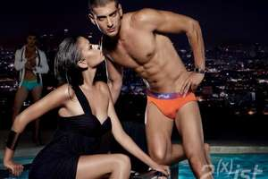 2(x)ist 2009 Campaign Features Nighttime Pool Lounging