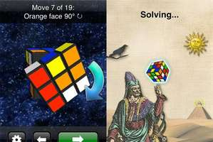 'CubeCheater' iPhone App Solves Any Rubik's Cube
