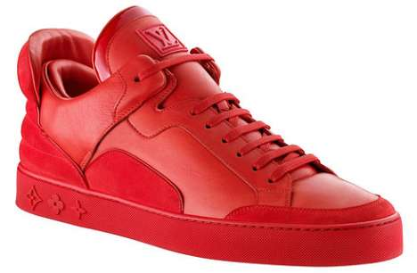 Flaming Red Sneakers