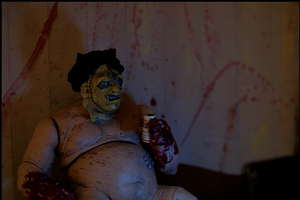 Toy Photography Illustrates What Leatherface Does On His Day Off