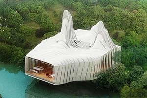 'Bird Island' Prefab Homes For Waterfronts in Kuala Lumpur