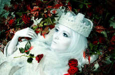 Gothic Fairy Taletography - Germany's 'Wahre Maerchen' Surreal Photo Exhibit