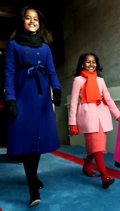 Tween Fashion Idols - Sasha and Malia Obama Already Boosting J. Crew's Brand Power