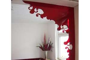 Unusual Modern Plexiglas Doorway Accents Decorate Unused Space