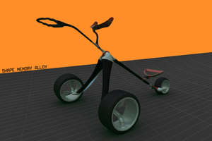 Flexible, Ground-Gripping 'Soft Buggy' Keeps Up On Any Green