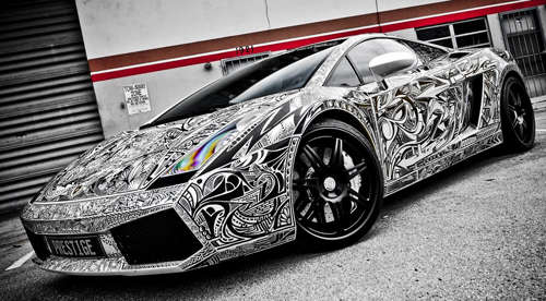 Tattooed Supercars