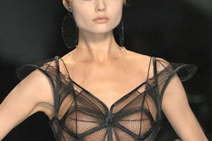 Jean Paul Gaultier's Spring 2009 Couture is Geometric Genius