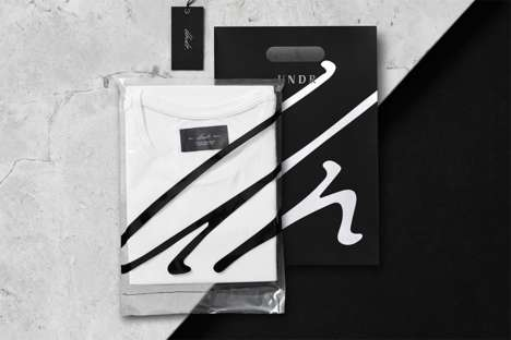 Minimalist Undergarment Packaging - The Design of These Undergarments Makes Them Simple and Modern