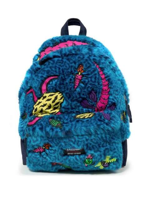 Charitable Artist Backpacks - The Profits from These New EASTPAK Carriers Go Towards AIDS Research
