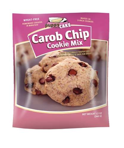 Dog-Friendly Cookie Mixes - This Mix for Carob Cookies from 'Puppy Cake' is Subtly Branded for Dogs