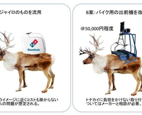 Reindeer Pizza Deliveries