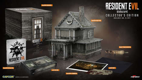 Memorabilia-Packed Game Sets - The Resident Evil 7 Special Collector's Edition Comes with a Mansion