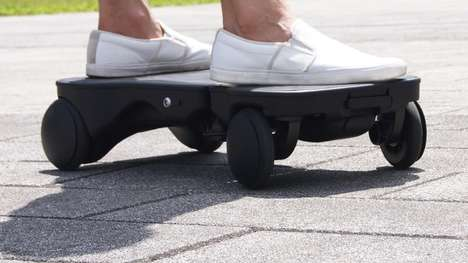 Foldable Electric Skateboards - The 'Moboster' is a Safe Alternative to Hoverboards