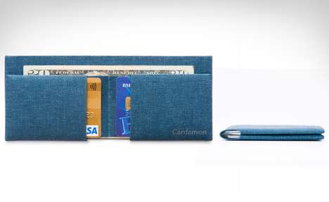 Lifetime Guarantee Plastic Wallets - The Cardamon Wallet is Made Using Aeronautical-Grade Materials