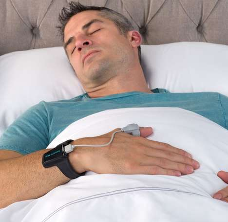 Snoring-Stopping Fitness Trackers - The Snore-Reducing Oxygen Monitor Tracks Users Day and Night