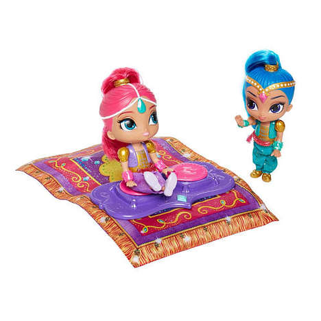 Flying Genie Toys - The Shimmer and Shine Magical Flying Carpet Toy Swiftly Glides Across the Floor