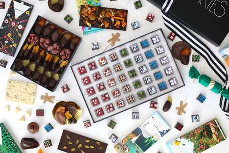 Festive Chocolate Assortment Gifts - 'Compartes Chocolatier' is Providing Holiday Gift Collections