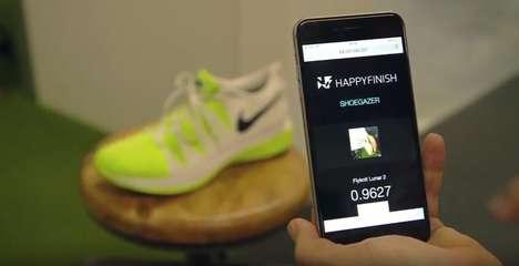 Shoe Recognition Apps - The 'Shoegazer' App Recognizes Shoes the Same Way Shazam Recognizes Music