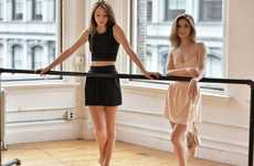 Dance-Themed Sportswear - The 'Belle Force' Activewear Brand Was Designed Specifically for Dancers