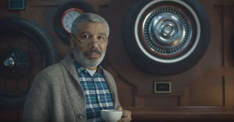 Tongue-Twisting Financial Ads - This E-Trade Commercial Focuses on Man Who's Retired from Tires