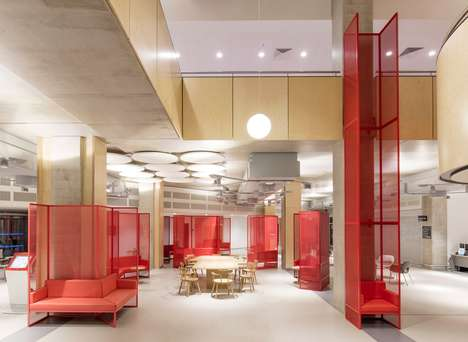 Colorful Cancer Center Furniture - 'Genius Loci' is a Series of Furniture for a UK Cancer Center
