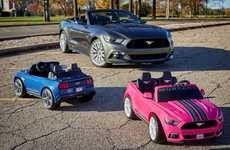 Realistic Kids Go-Karts - Ford's 'Mustang Power Wheels' Toy has a Traction Control Powertrain