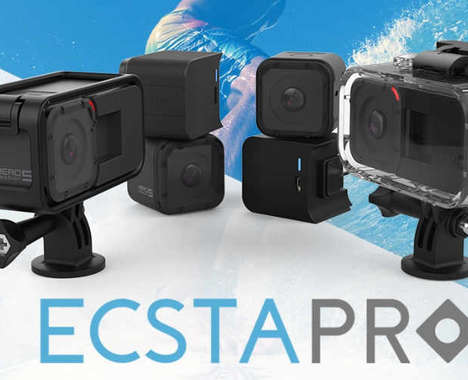 Action Cam Battery Extenders