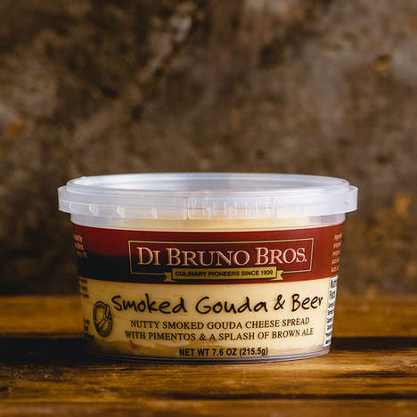 Alcohol-Infused Cheese Spreads - Di Bruno Bros.' Cheese Dips and Spreads are Made with Wine and Beer