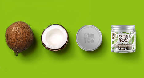 Edible Cosmetic Creams - These Coconut-Based Cosmetics are Natural Enough to Eat