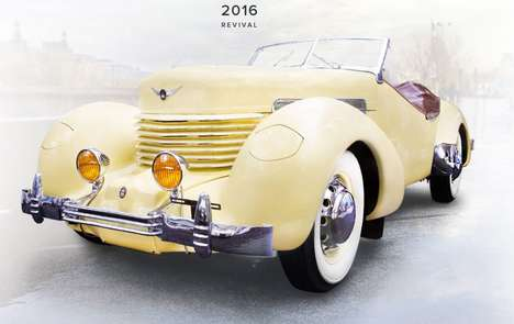 Resurgent Historic Car Brands - The Historic 'Cord' Car Brand is Slated to Return to US Roads