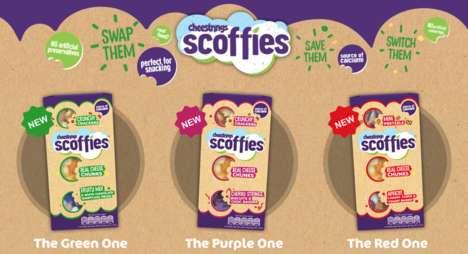 Assorted Snack Packs - Kerry Ireland's 'Scoffies' Pair Fruit, Chocolate, Cheese and Crackers