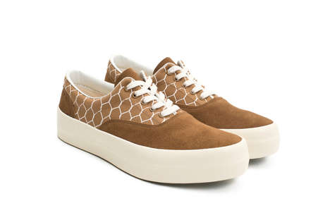 Wire Fence-Inspired Sneakers - These UNDERCOVER Sneakers Have Soft Suede Accents and a Bold Sole