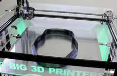 Oversized All-in-One 3D Printers