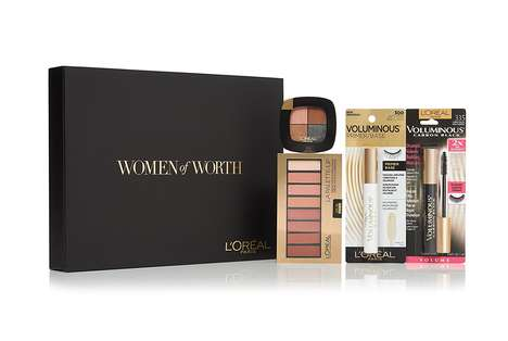 Empowering Makeup Sets - L'Oreal's Limited 'Women of Worth' Gift Box Celebrates Inspiring Ladies