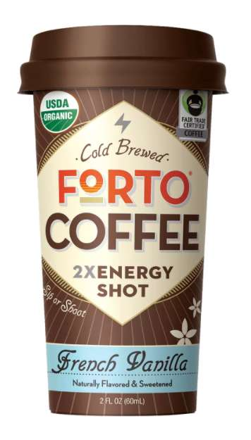 Cold Brewed Energy Shots - Forto's 'Strong Coffee' Shots are Made with 100% Arabica Beans
