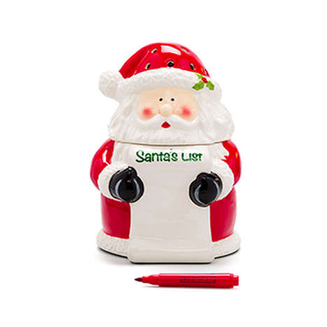 Customizable Christmas Diffusers - Scentsy's 'Santa's List Warmer' Can Be Written on with a Marker